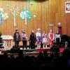 Przedszkolaki na spektaklu muzyczny